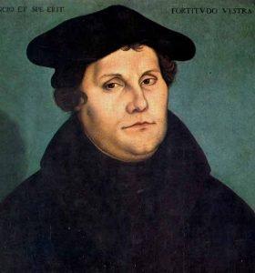 la sana doctrina biblica, Martin Lutero